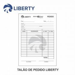 Talão de Pedido Liberty