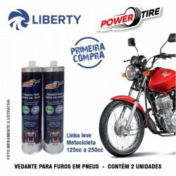 KIT POWER TIRE MOTO C/ APLICADOR